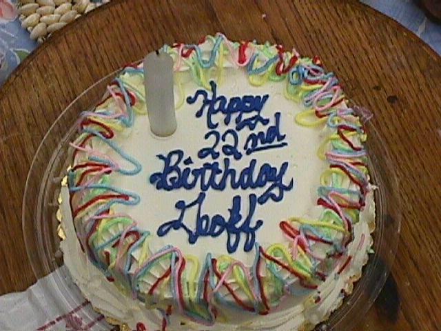 GEOFFREY PETER BELLAND AGE 22 BIRTHDAY PARTY